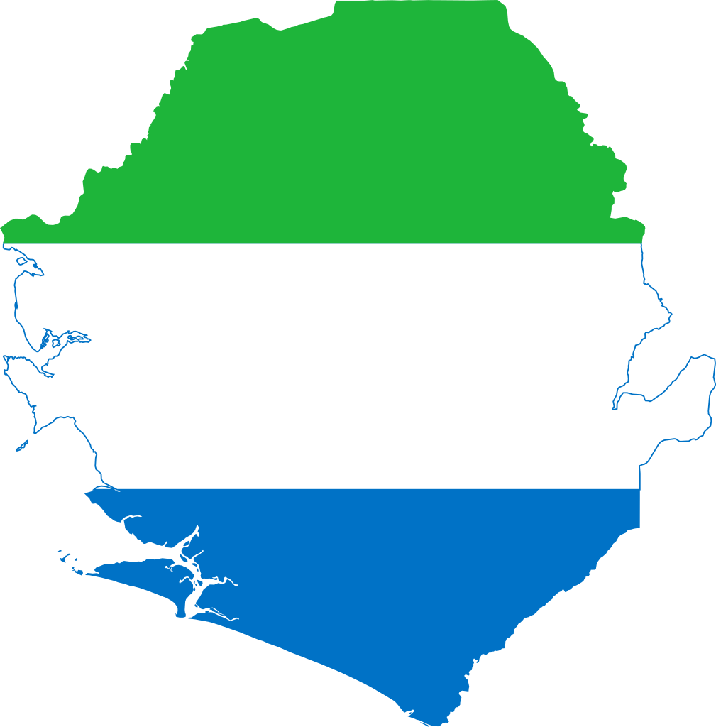 File flag of sierra. Clipart map nearby