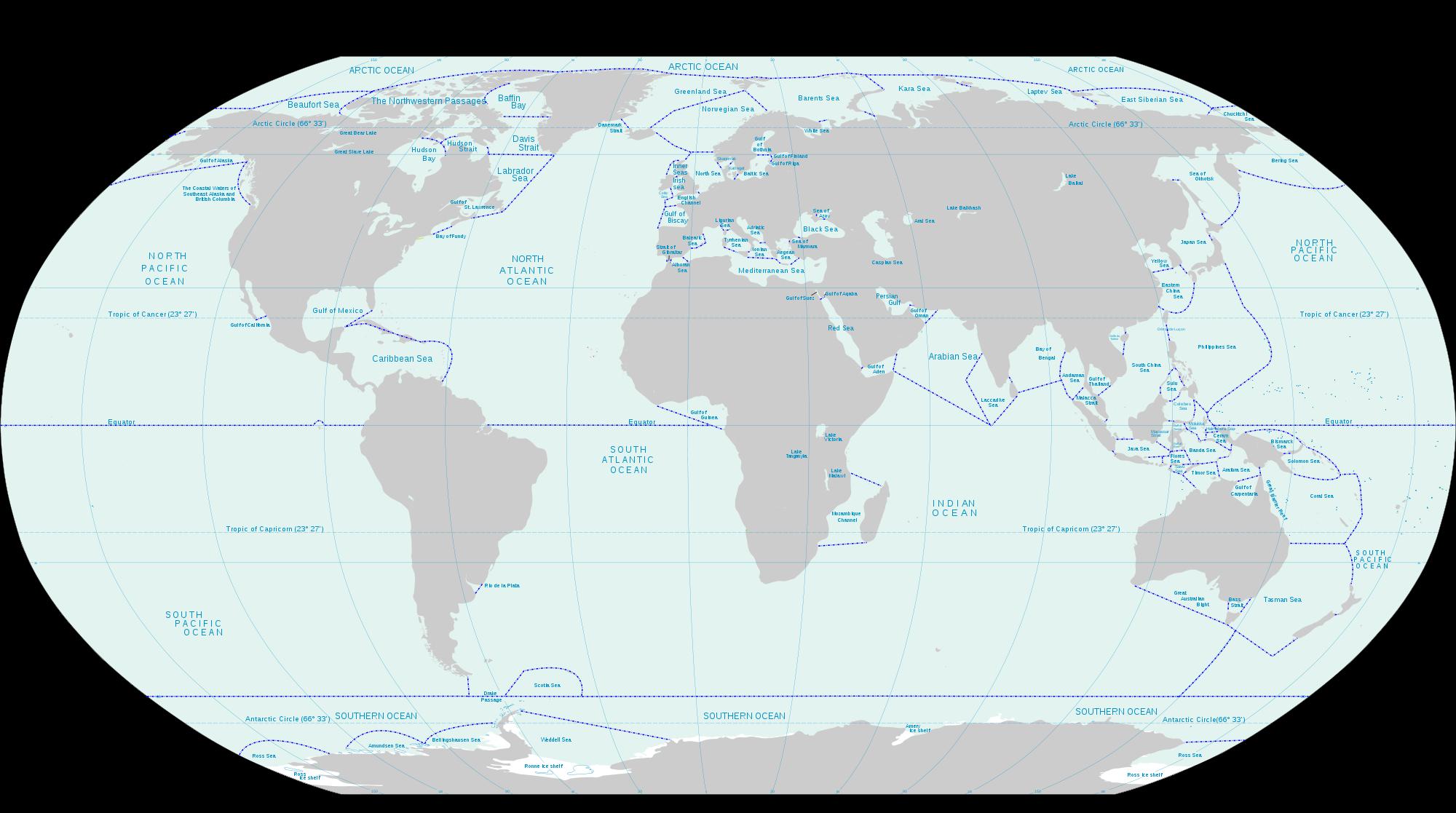 Clipart map ocean map. File oceans and seas