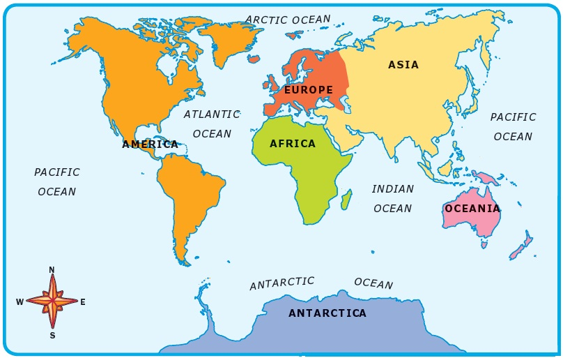 All inclusive world of. Clipart map ocean map