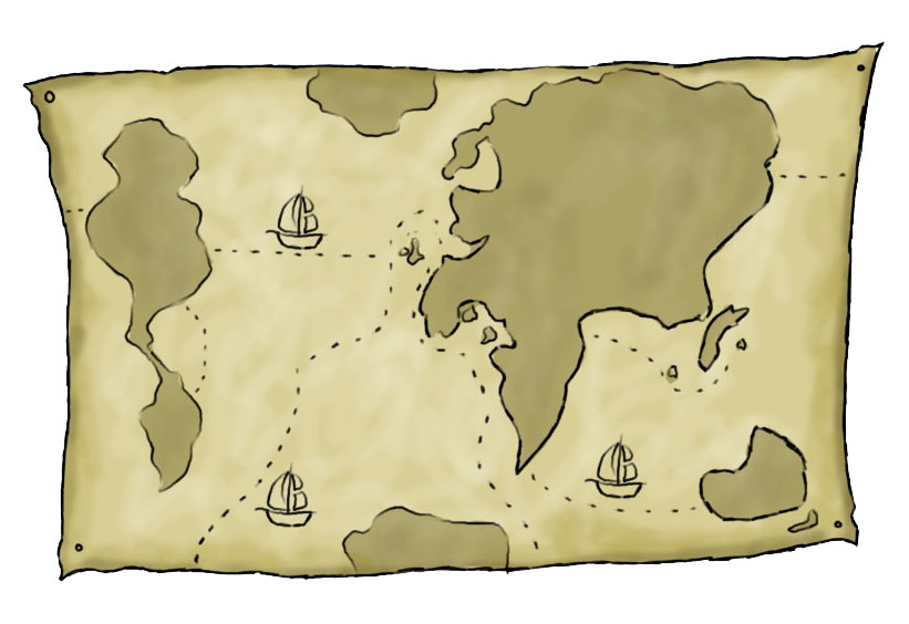 Free to use clip. Clipart map old