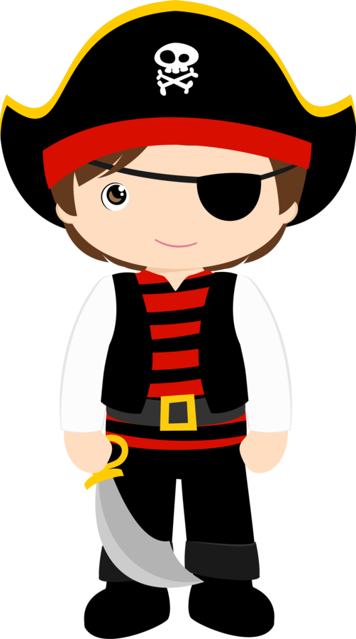 Minus say hello. Young clipart pirate