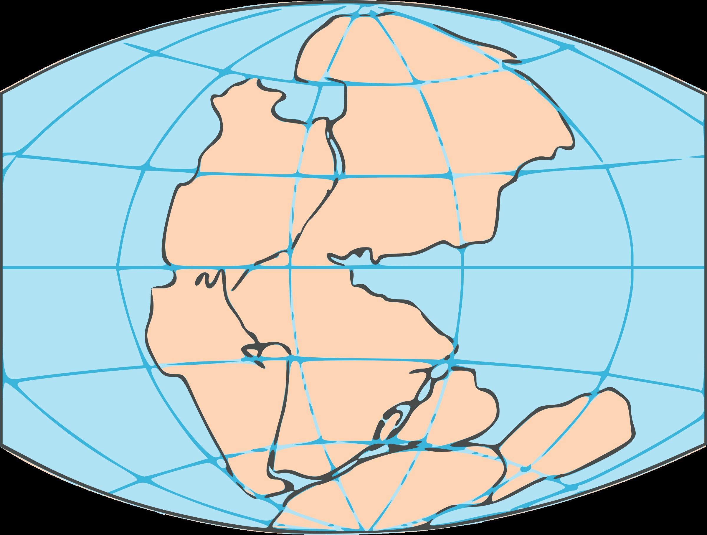 Clipart map public domain. Pangaea