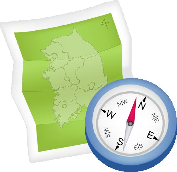 Map relative location