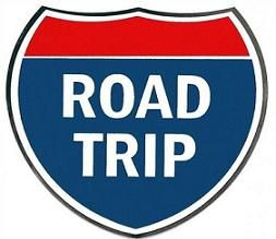 Clipart road road trip. Free kids family trips