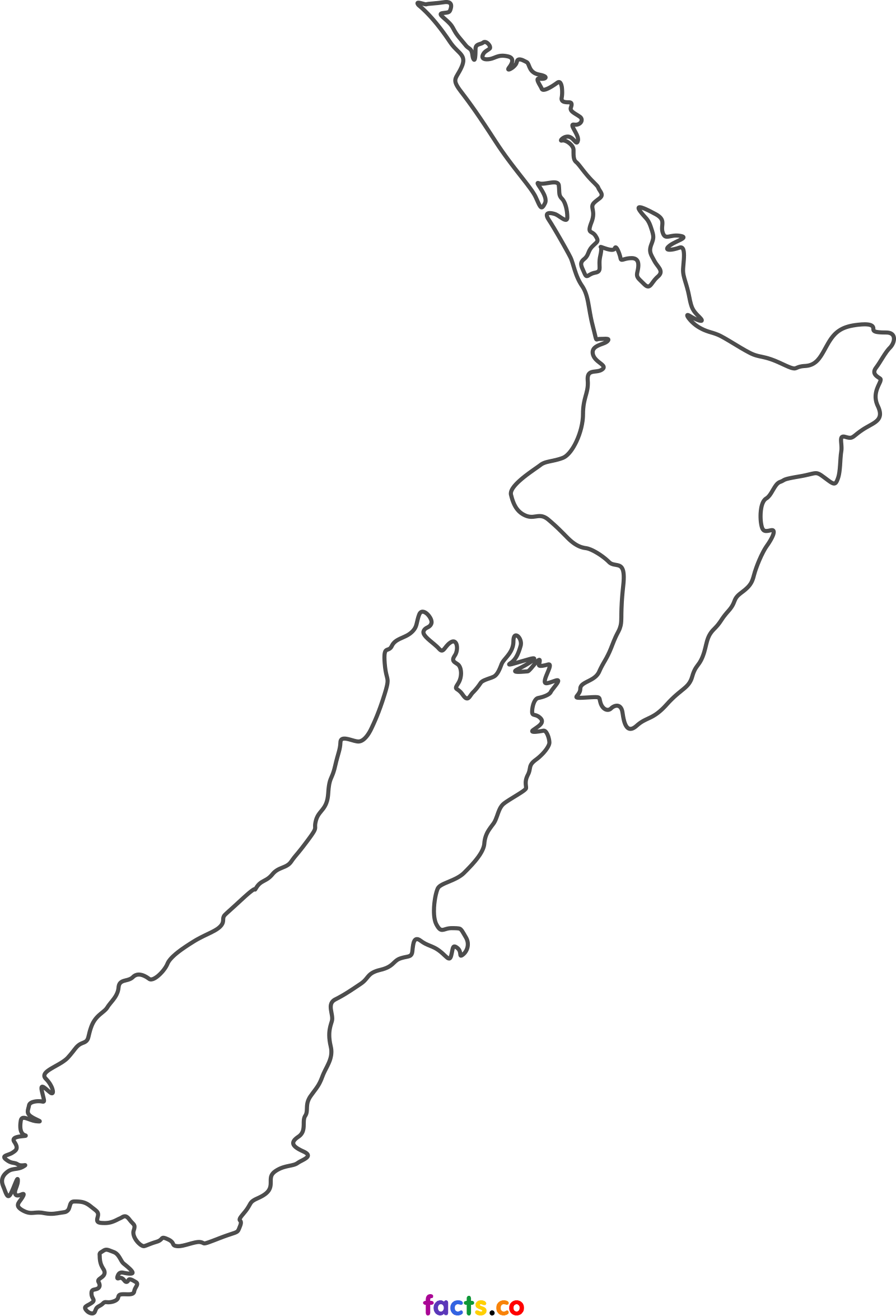 New zealand blank political. Clipart map scout map