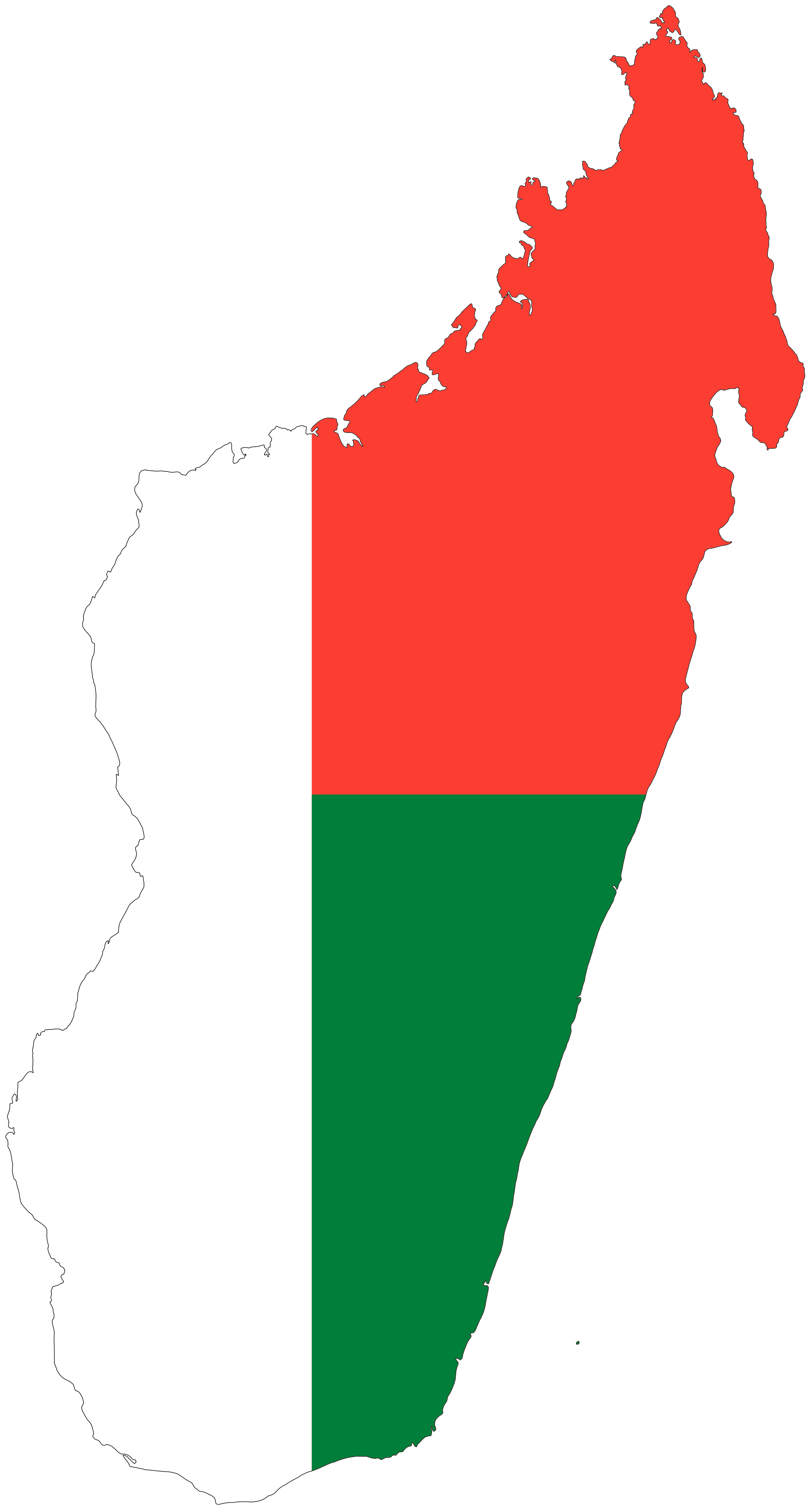 Madagascar flag africa pinterest. Clipart map scout map