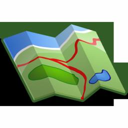 Road free images clip. Clipart map transparent
