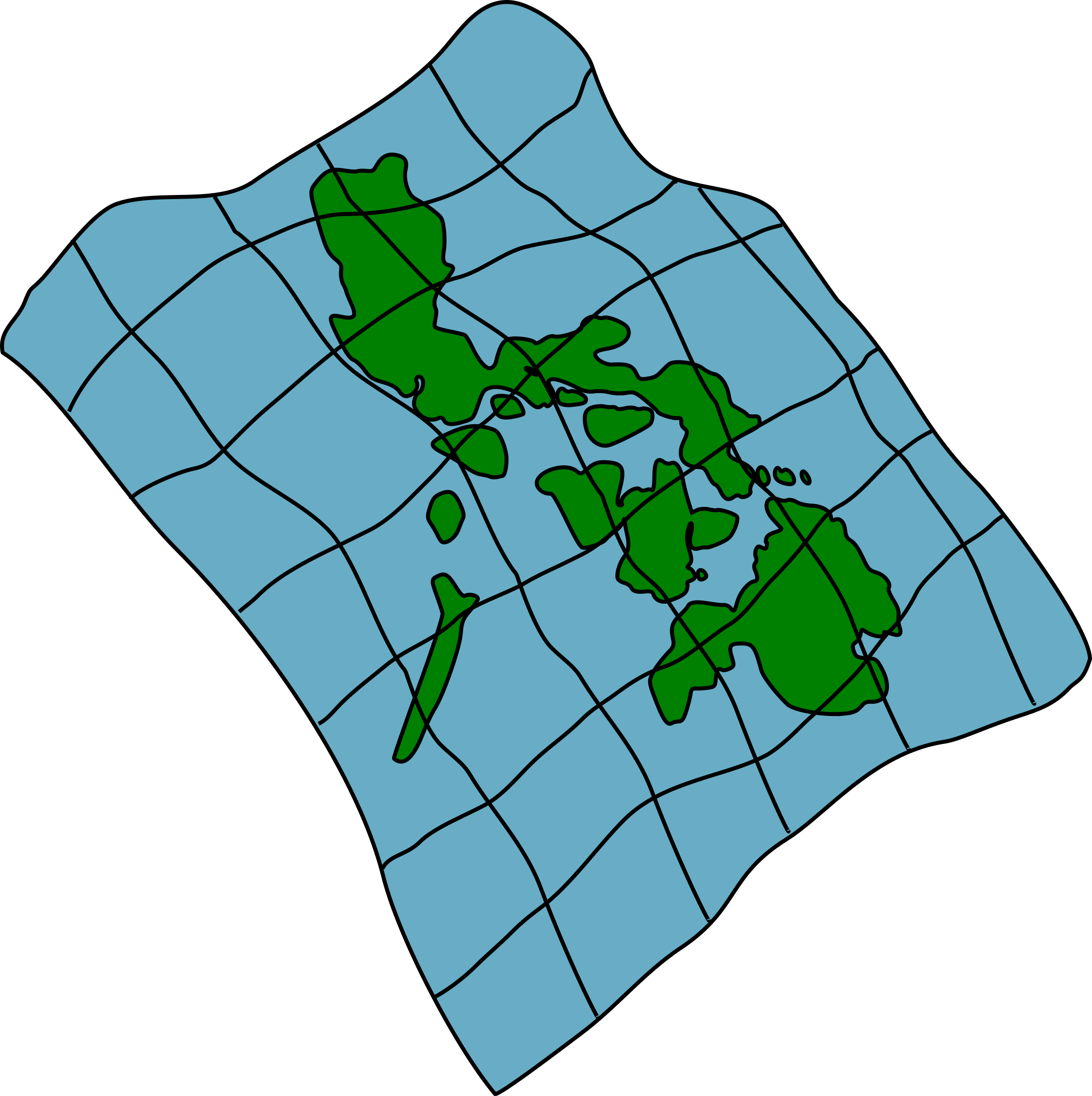 Clipart map transparent. Of the philippines big