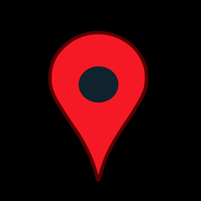 Pin . Clipart map transparent