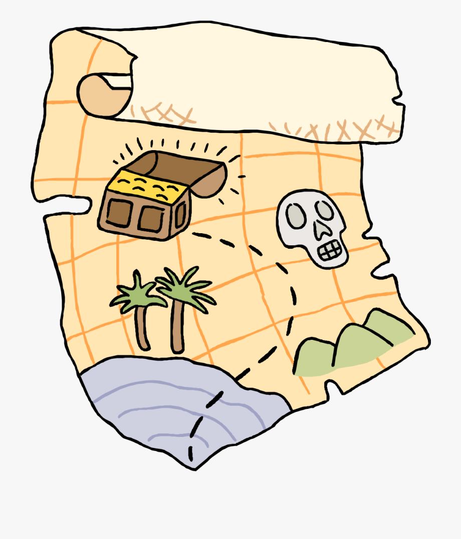 Clip art hunt free. Treasure clipart treasure map