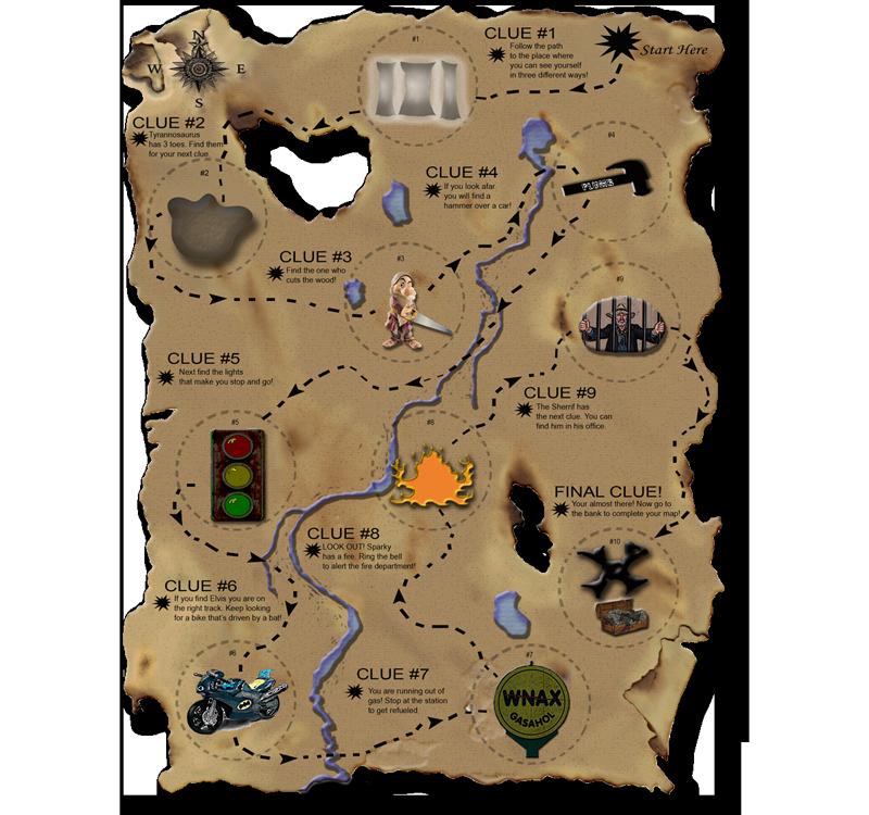 Clipart map treasure hunt. Kid s kids