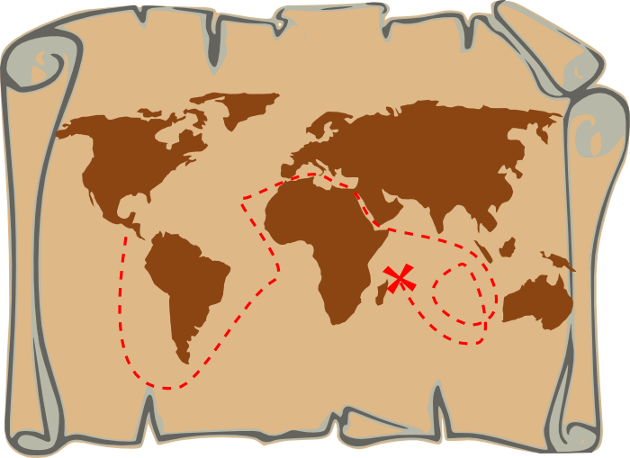 Treasure chest pirate graphics. Hunter clipart outdoorsman