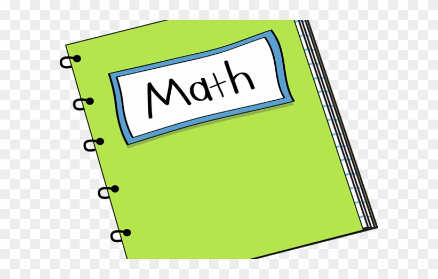 Notebook clip art transparent. Homework clipart math homework