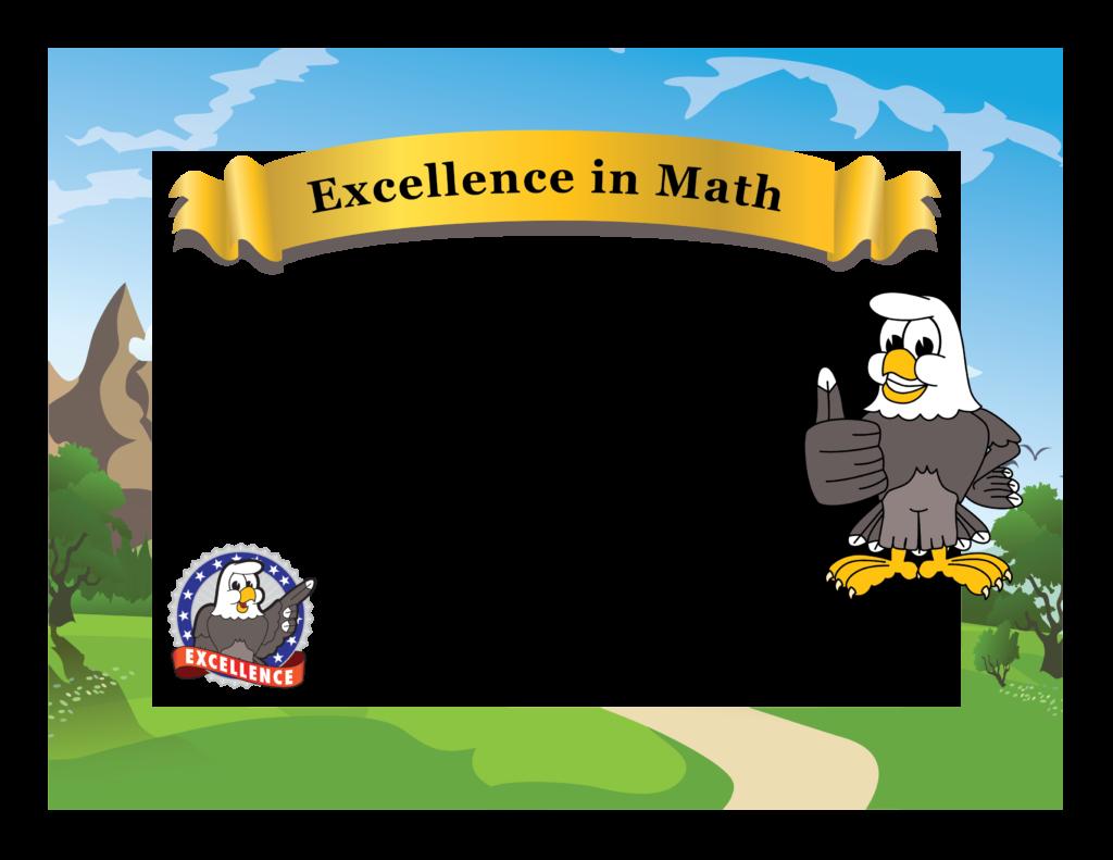 Pbis award certificates templates. Math clipart awards