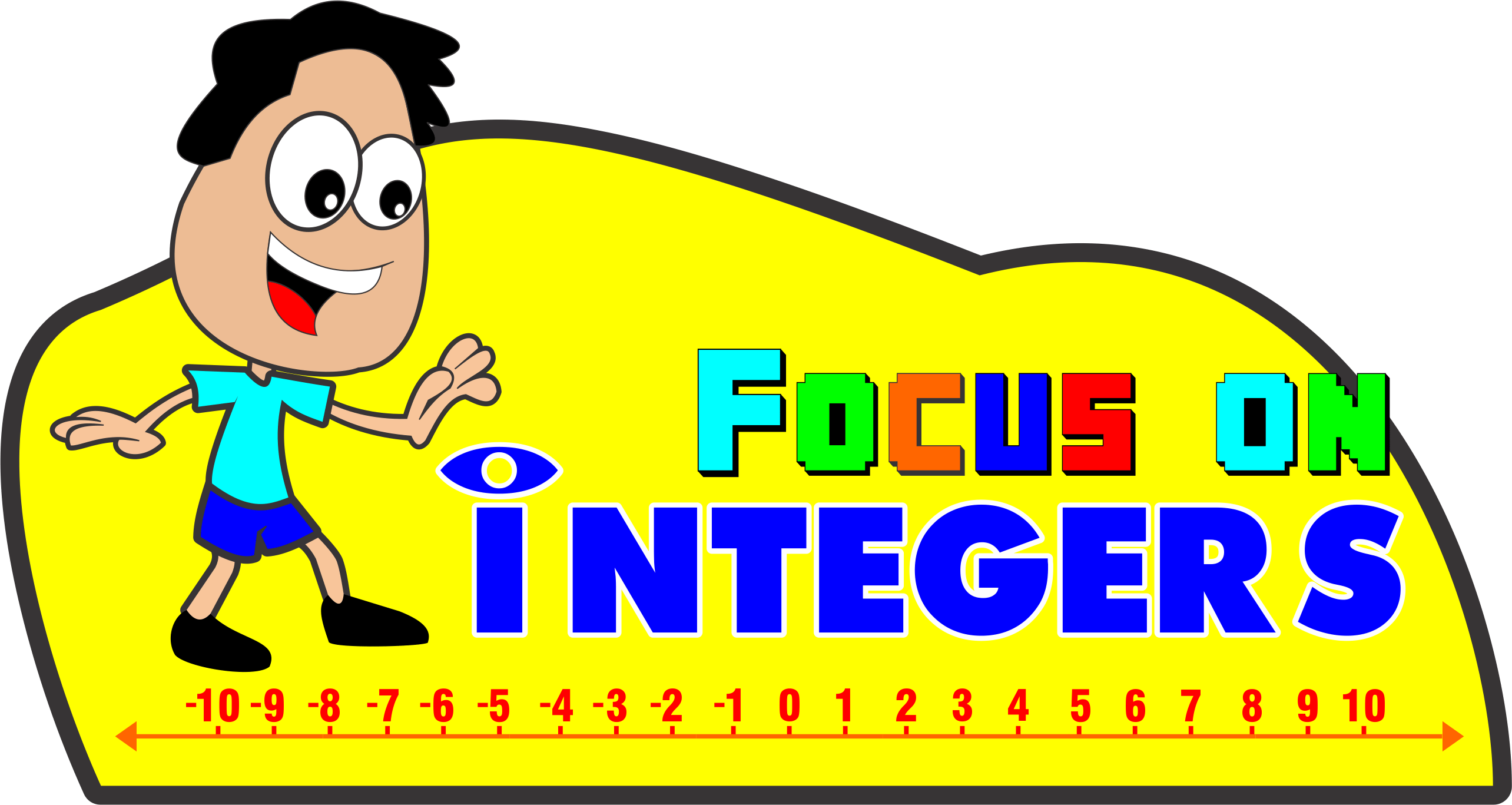 Focus on integers ultimate. Positive clipart satisfied