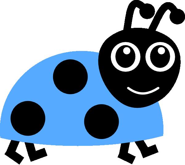 Ladybug clipart blue ladybug. Clip art at clker