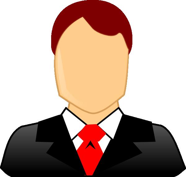 Clipart math business. Male formal clip art