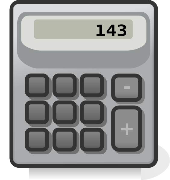 Pencil clipart calculator. Clip art at clker