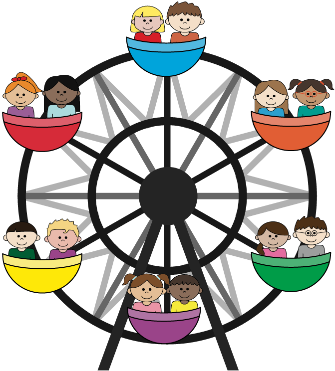 A little gift from. Wheel clipart kid