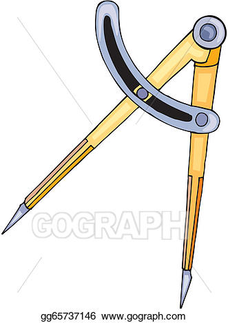 Vector art drawing gg. Geometry clipart geometry compass