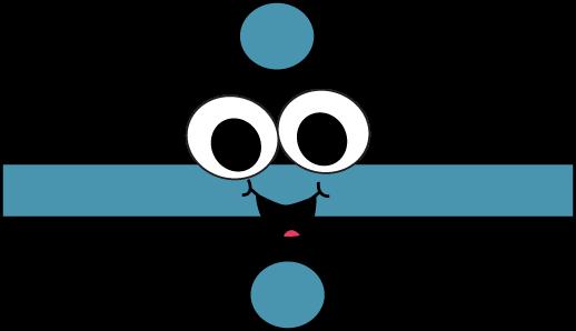 Clipart math division. Symbol clip art vector