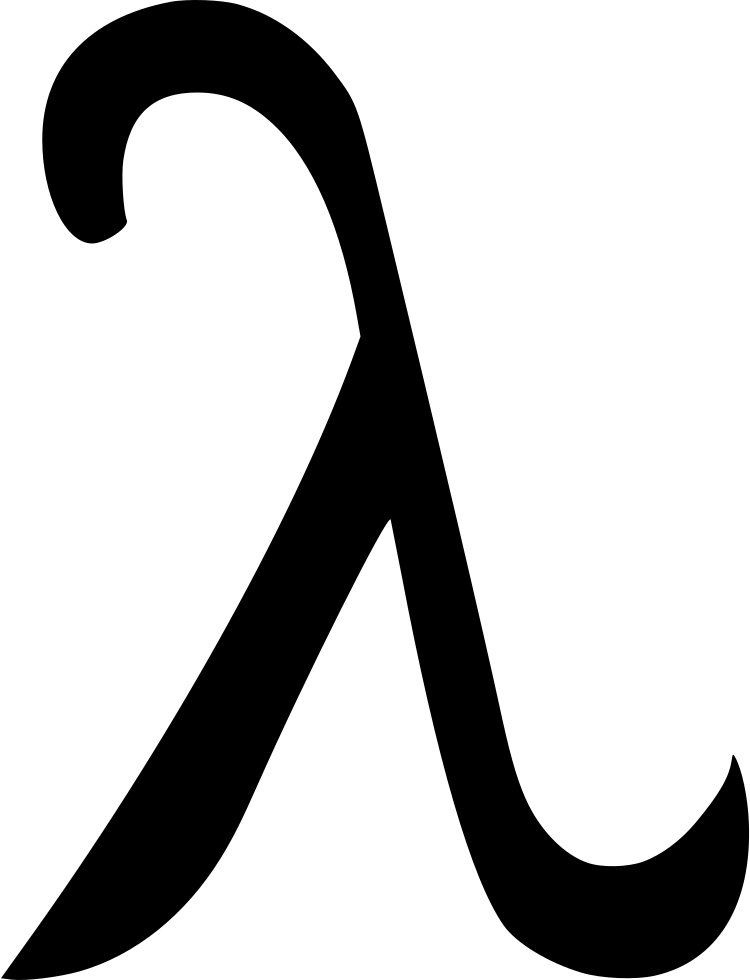 Clipart math geometry. Lambda greek alphabet svg