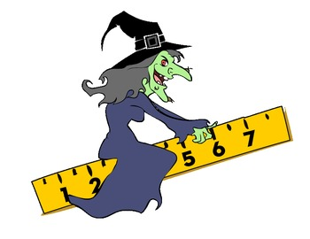 Witch clipart school. Halloween math
