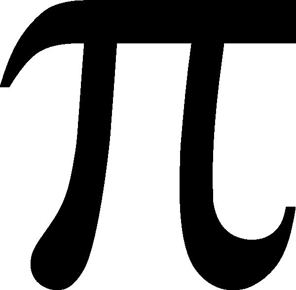 Pi symbol clip art. Pie clipart svg