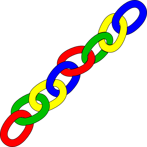 Chain clipart colored.  collection of math
