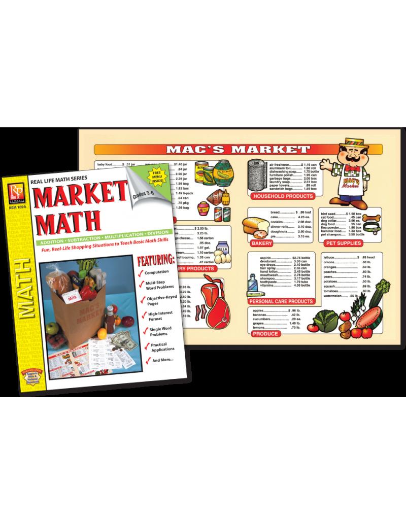Market activity book menu. Multiplication clipart math review