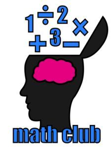 Clipart math math club. For elementary or middle