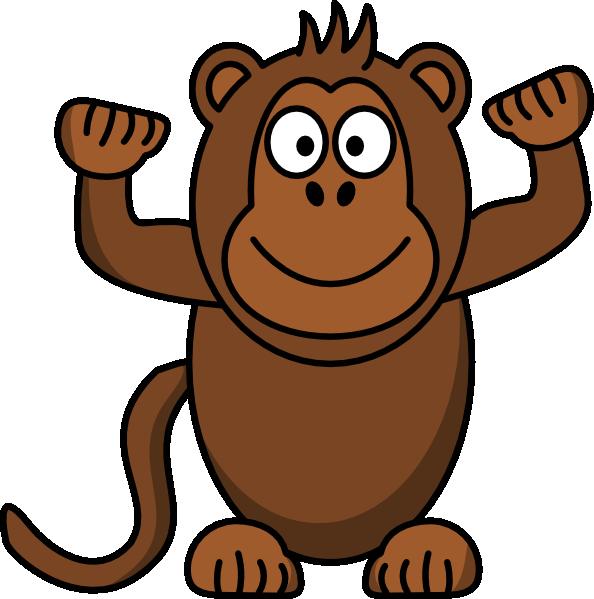 Clip art at clker. Clipart monkey math