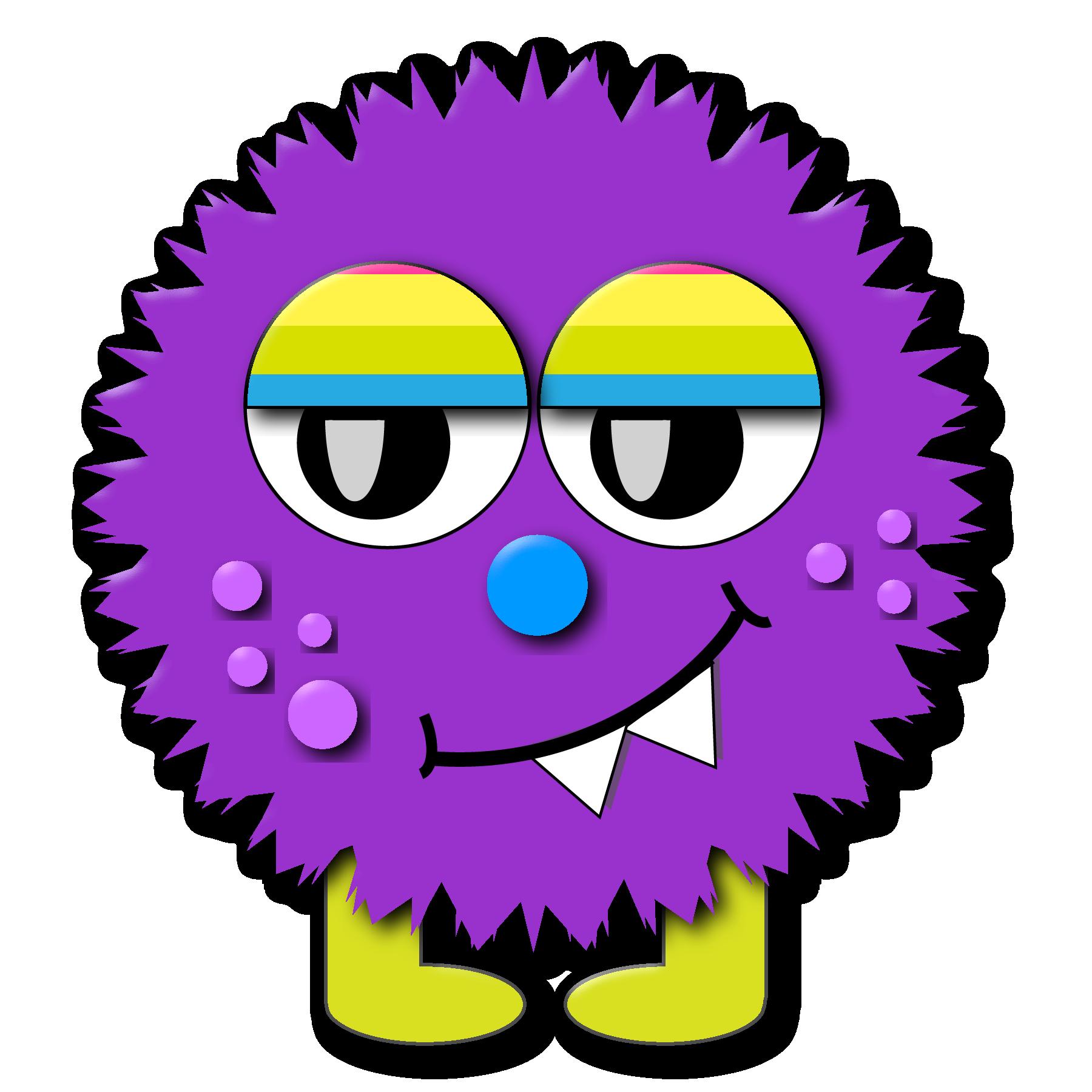 Clip art panda free. Clipart smile monster