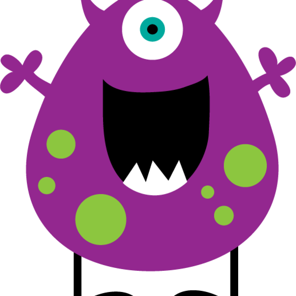 Clipart science monster. Cute animal hatenylo com