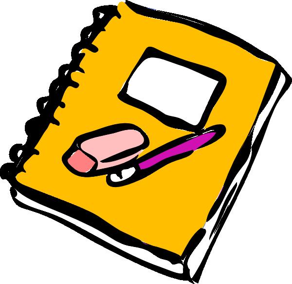 Clip art at clker. Notebook clipart scince