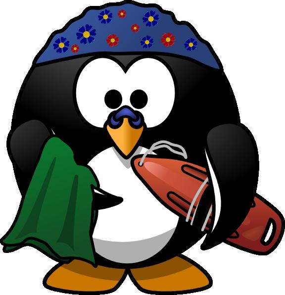 Clipart penguin penguin family. Swimming clip art at