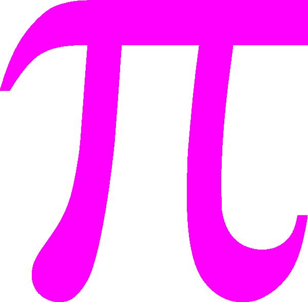 Pi pink clip art. Pie clipart pie day