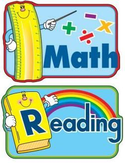 And clip art school. Math clipart reading
