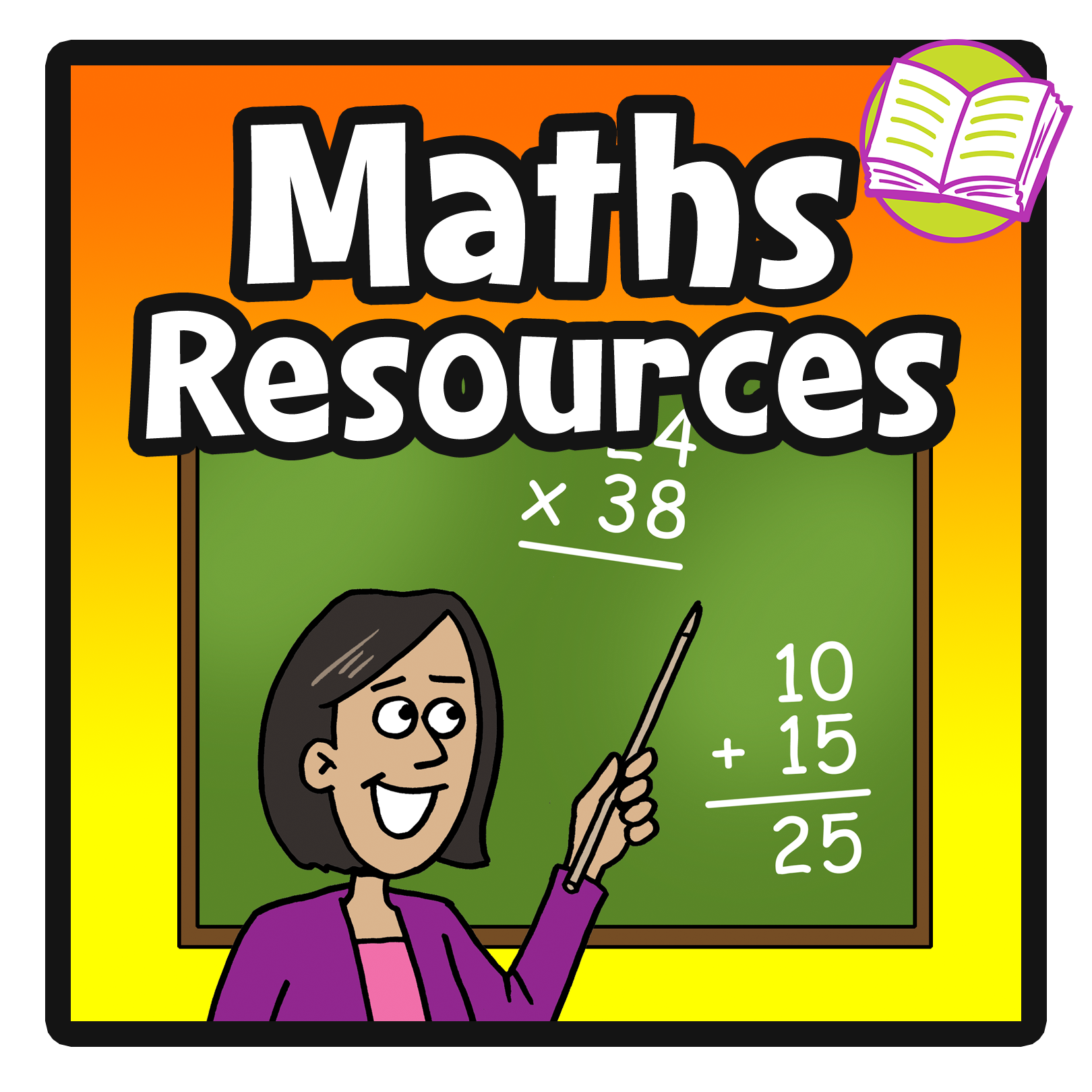 English clipart resource.  collection of teacher