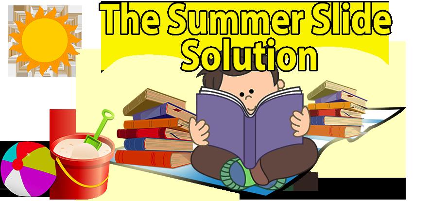 Slide solution wilbooks offers. Clipart reading summer