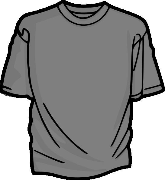 T clip art at. Clipart shirt gray shirt