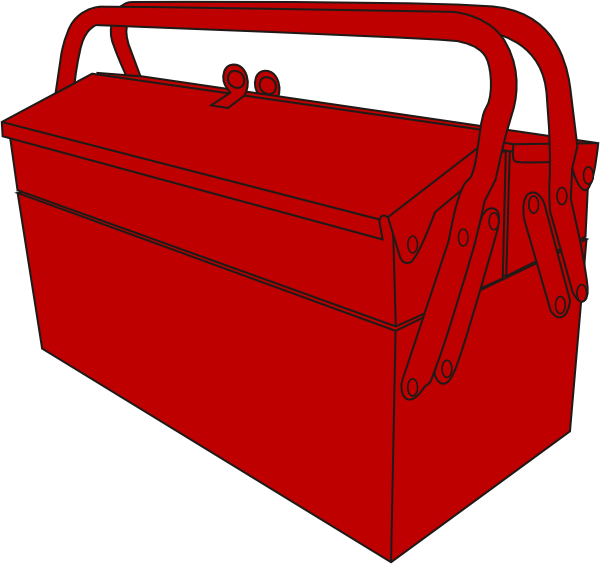 Tool clipart tool chest. Toolbox clip art at