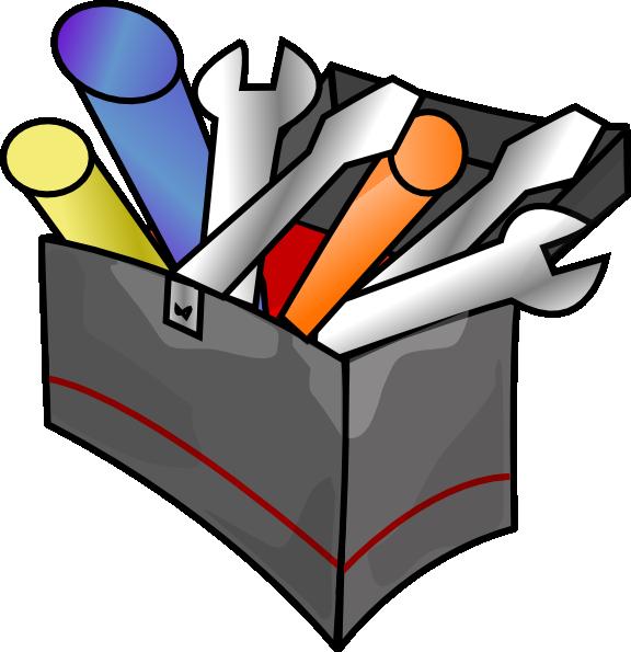Tool clipart name. Box clip art at