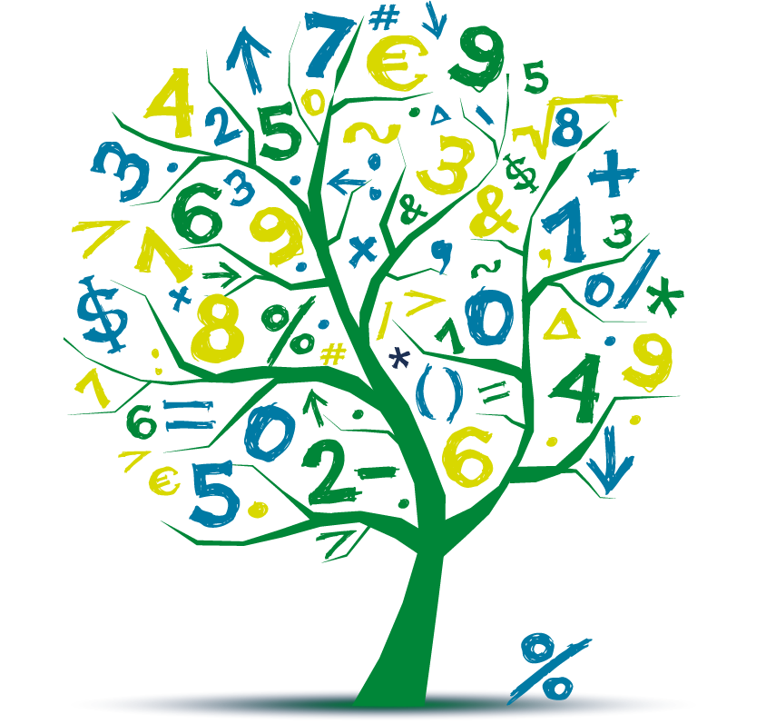 Gateway stanly community college. Tree clipart math