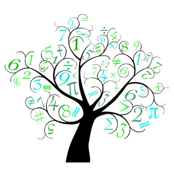 Clip art for personal. Tree clipart math