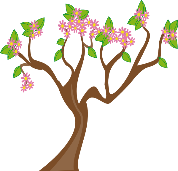 Spring clip art at. Xylophone clipart tree
