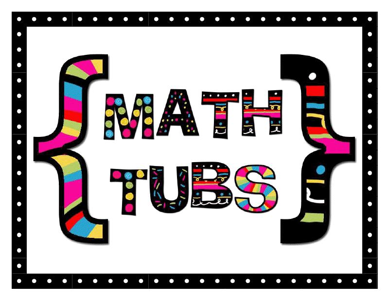 Tales of a teacherista. Clipart math tub