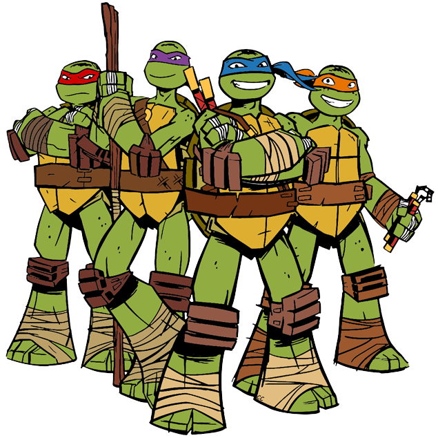 Clipart turtle animation. Ninja clip art teenage