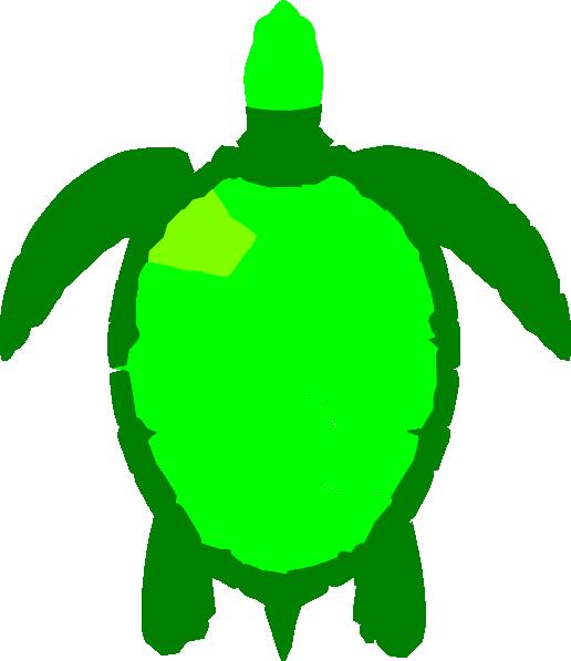 Green sea clip art. Clipart turtle math