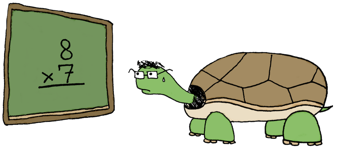 Nervous clipart stage fright. Turtles hares and hot
